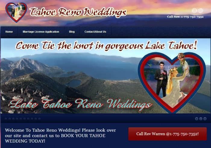 tahoe reno weddings