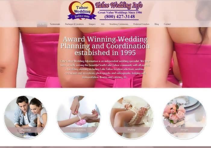 tahoe wedding info