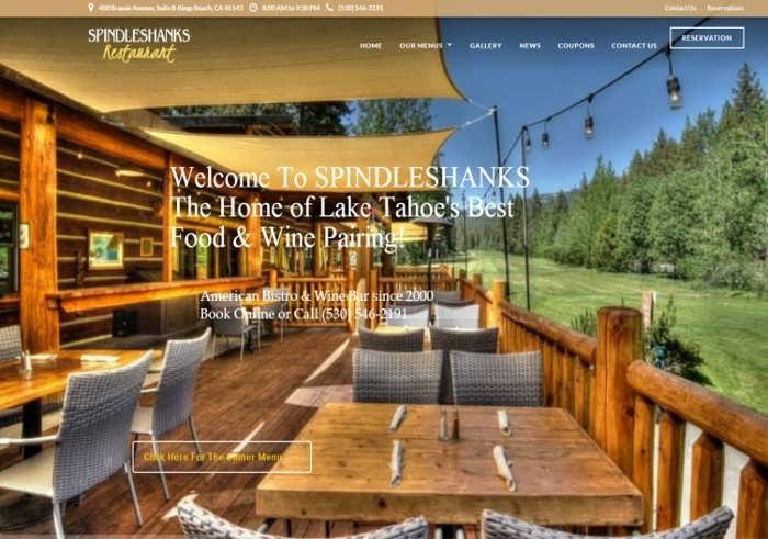 spindleshanks tahoe restaurant